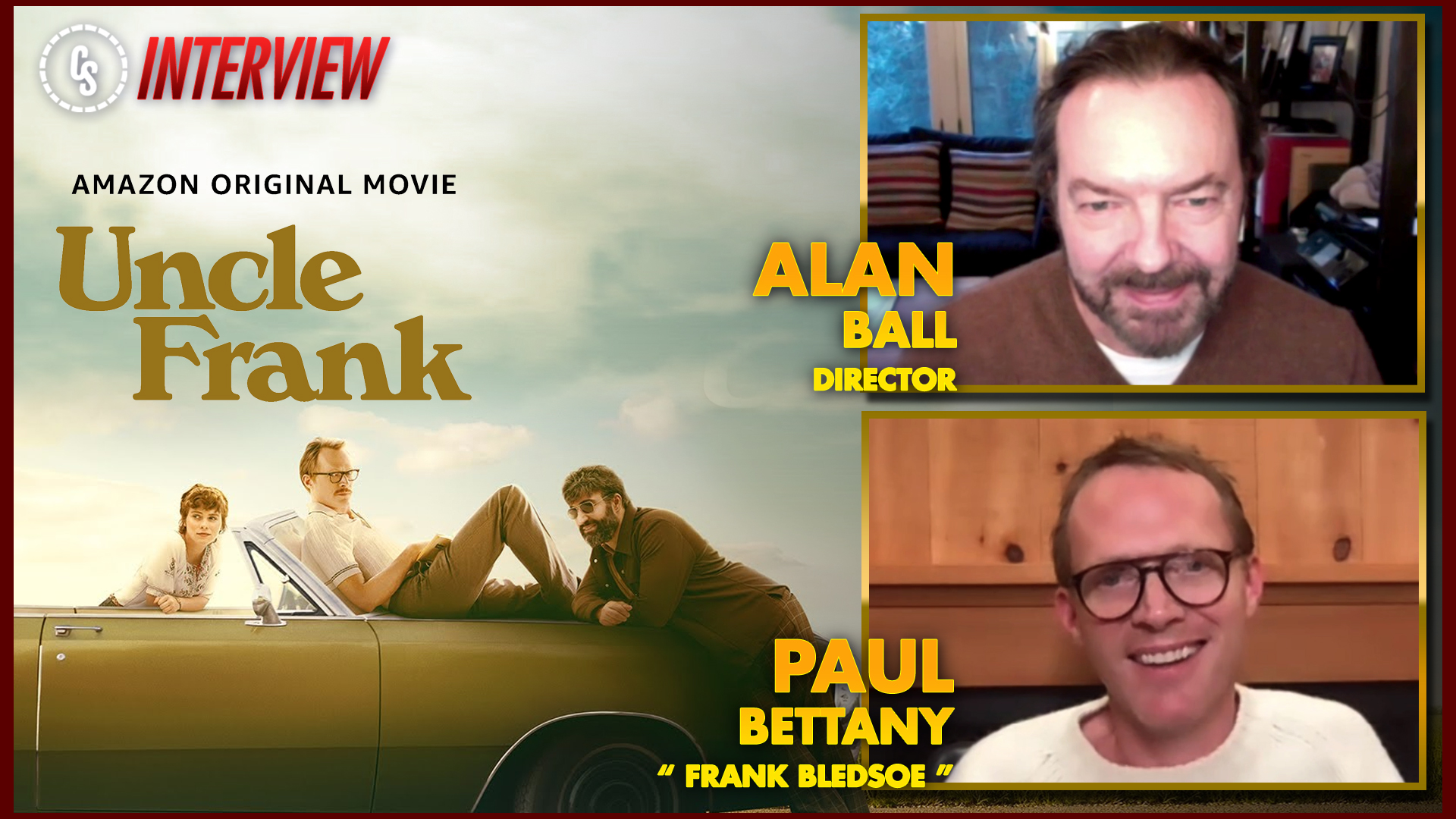 CS Video: Uncle Frank Interview With Paul Bettany & Alan Ball
