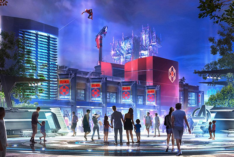 Disneyland Offers Early Look at New Attractions, Including Marvel