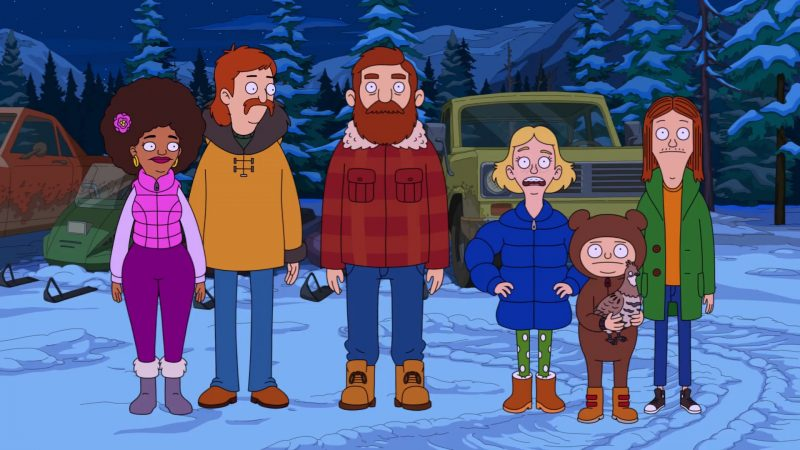 The Great North Teaser Previews Nick Offerman & Will Forte-Led Animated Series