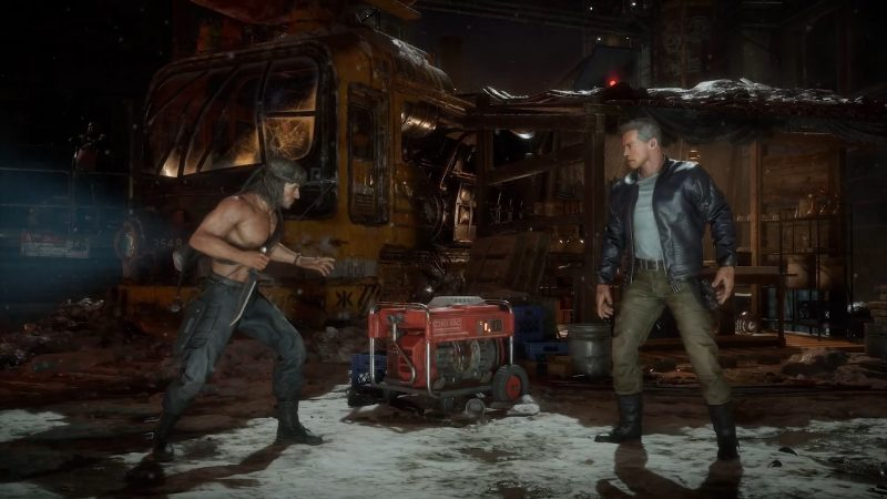 New Mortal Kombat 11 Ultimate Trailer Pits Rambo Against The Terminator