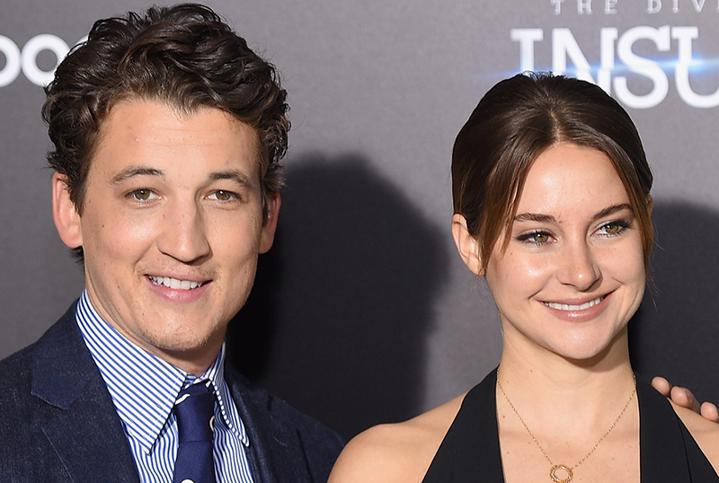 Miles Teller & Shailene Woodley to Reunite in Political Satire The Fence