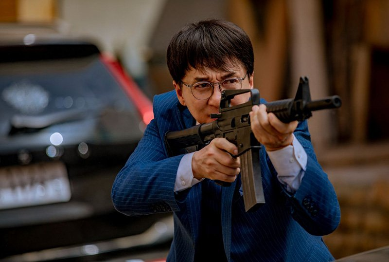 Vanguard Trailer & Poster Starring Action Legend Jackie Chan