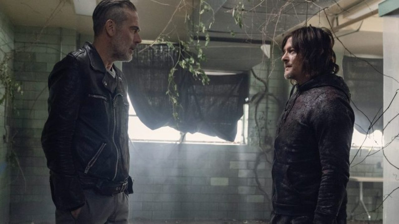 Negan and Daryl formed an unlikely alliance during the war against The Whisperers