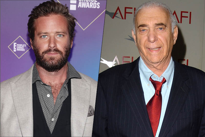 Armie Hammer to Lead Paramount+ Limited Series The Offer