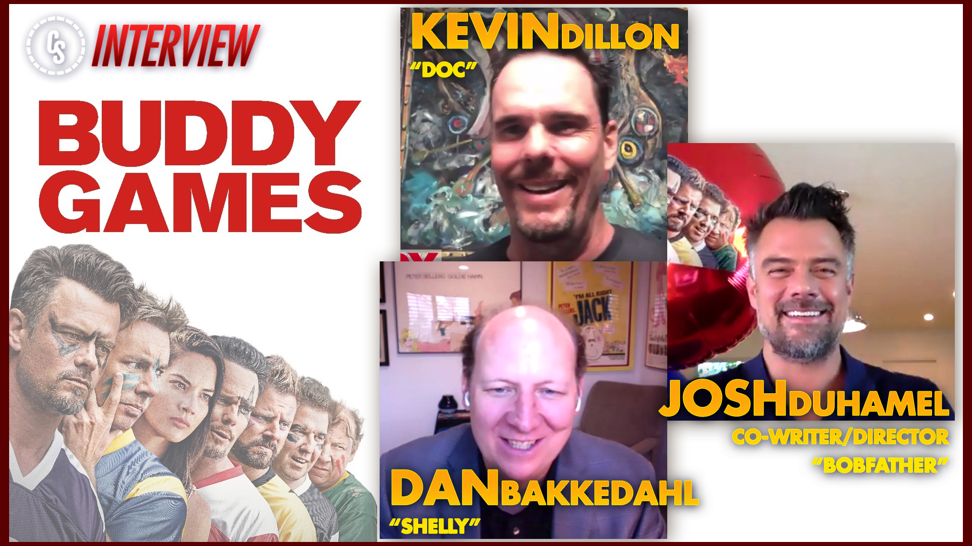 CS Video: Buddy Games Interviews With Duhamel, Bakkedahl & Dillon