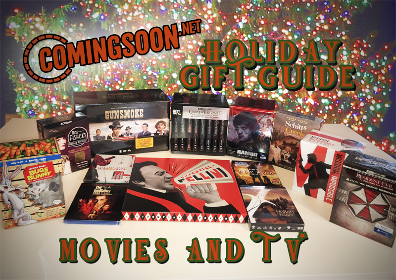 CS Holiday Gift Guide Part 1: Movies & TV!