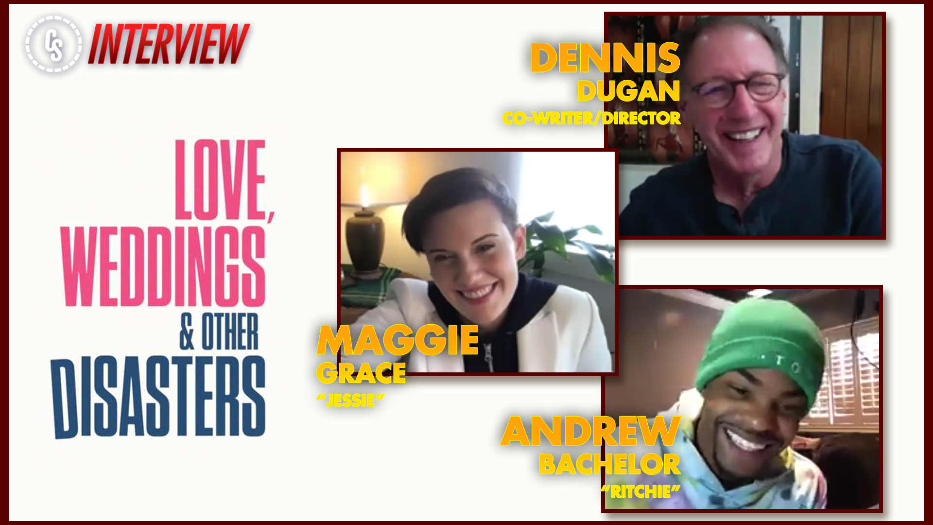 CS Video: Love, Weddings & Other Disasters Interview With Dugan, Grace & Bachelor