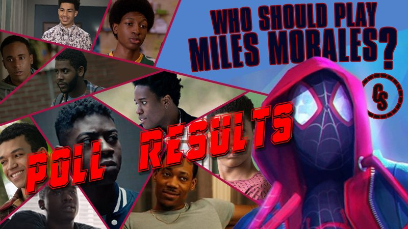 POLL RESULTS: Who Should Play Miles Morales Live-Action in a Spider-Man Movie?