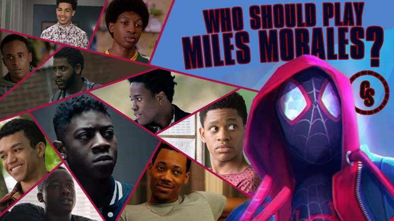 POLL: Who Should Play Miles Morales in Live-Action Spider-Man Movie?