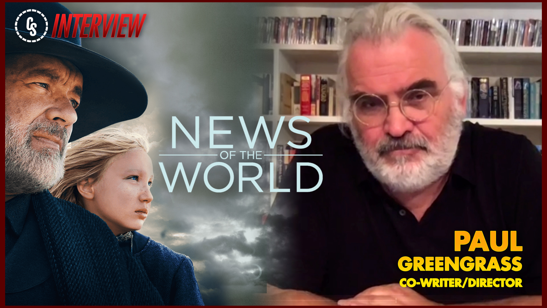 CS Interview: Co-Writer/Director Paul Greengrass on News of the World