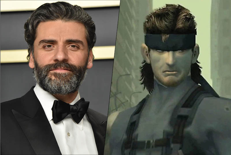 Metal Gear Solid Movie Lands Oscar Isaac to Play Solid Snake!