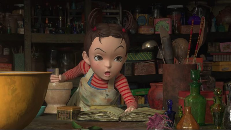 English Trailer For Studio Ghibli's Earwig and the Witch Released!