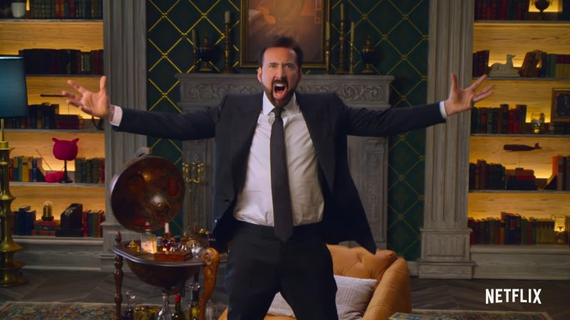 History of Swear Words Trailer: Join Nicolas Cage For an Education in Expletives