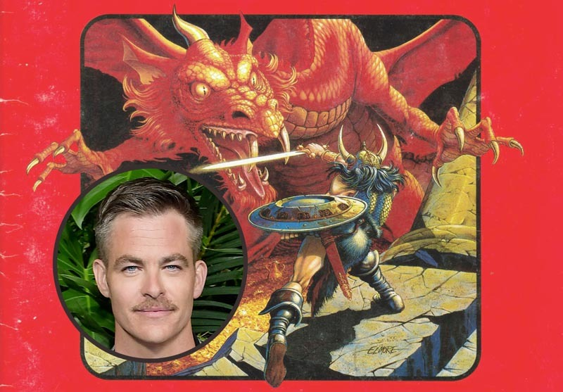 Chris Pine in Talks for Goldstein & Daley's Dungeons & Dragons