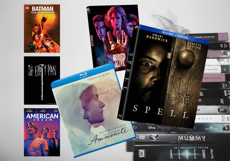 January 12 Blu-ray, Digital and DVD Releases