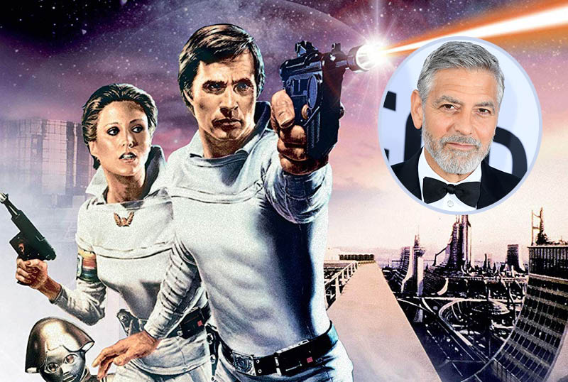George Clooney Teaming With Legendary for Buck Rogers Revival