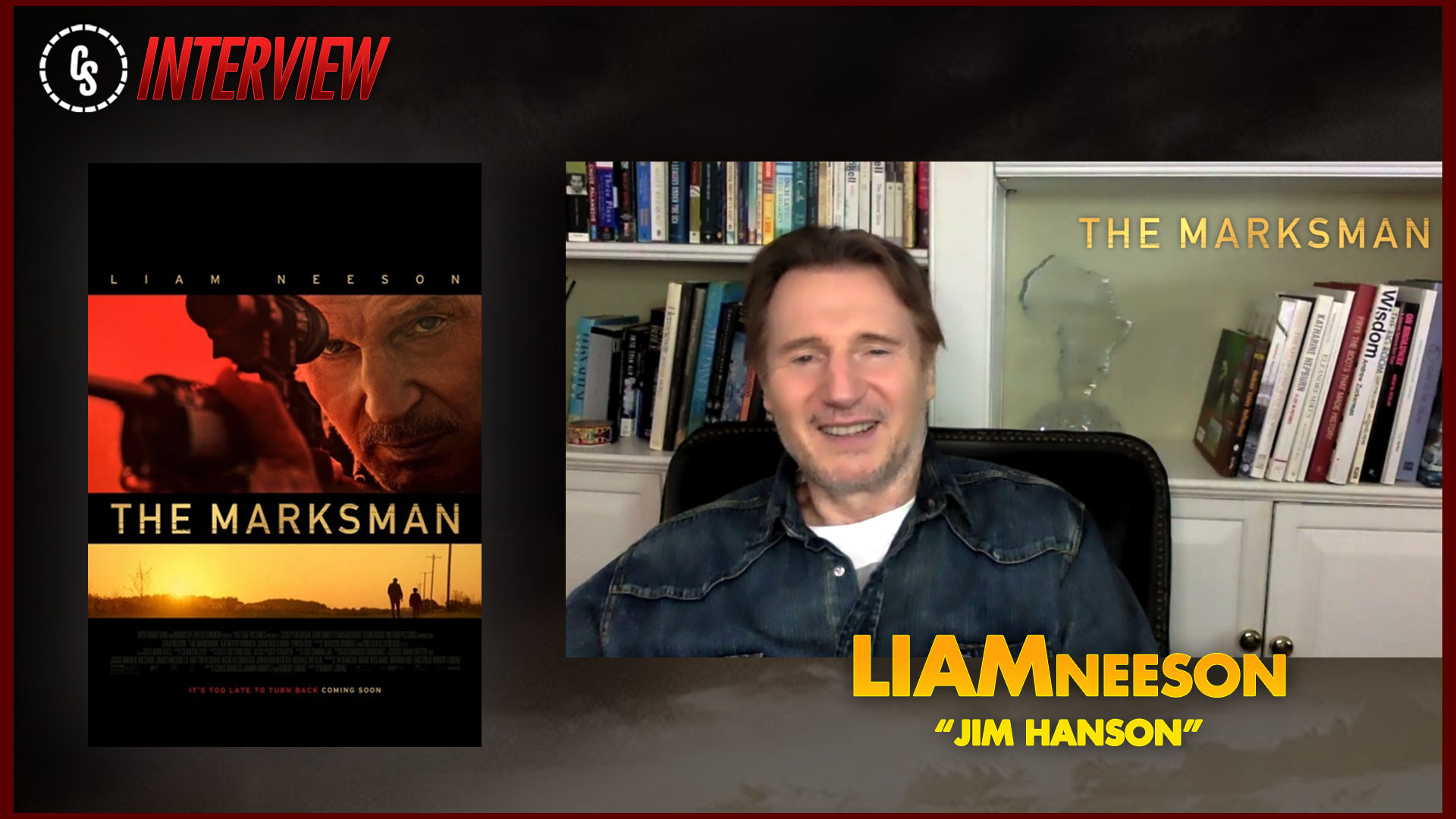 CS Video: The Marksman Interview With Star Liam Neeson