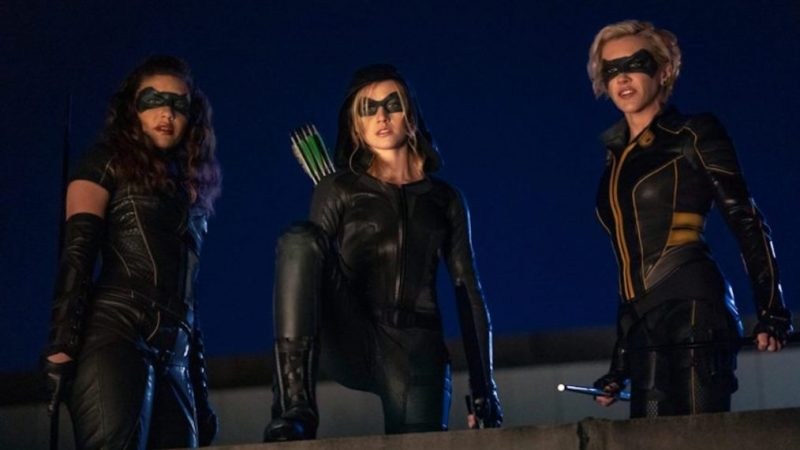 Green Arrow and the Canaries No Longer Moving Forward at The CW