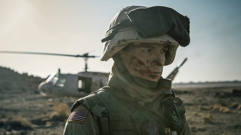 Tom Holland Signs Up for the Army in First Cherry Clip
