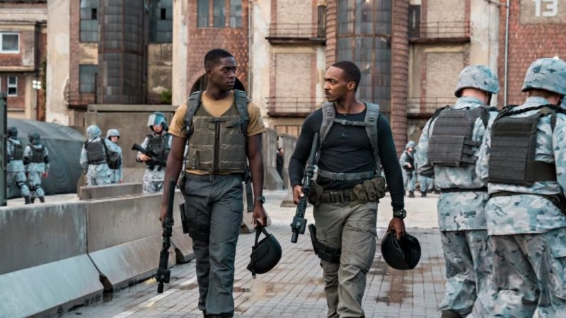 Outside the Wire Trailer: Anthony Mackie Stars in New Netflix Sci-Fi Film