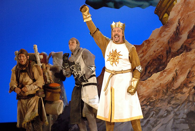Spamalot Musical: Paramount Nabs Film Adaptation From Fox