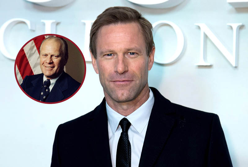 Showtime's The First Lady Adds Aaron Eckhart as Gerald Ford
