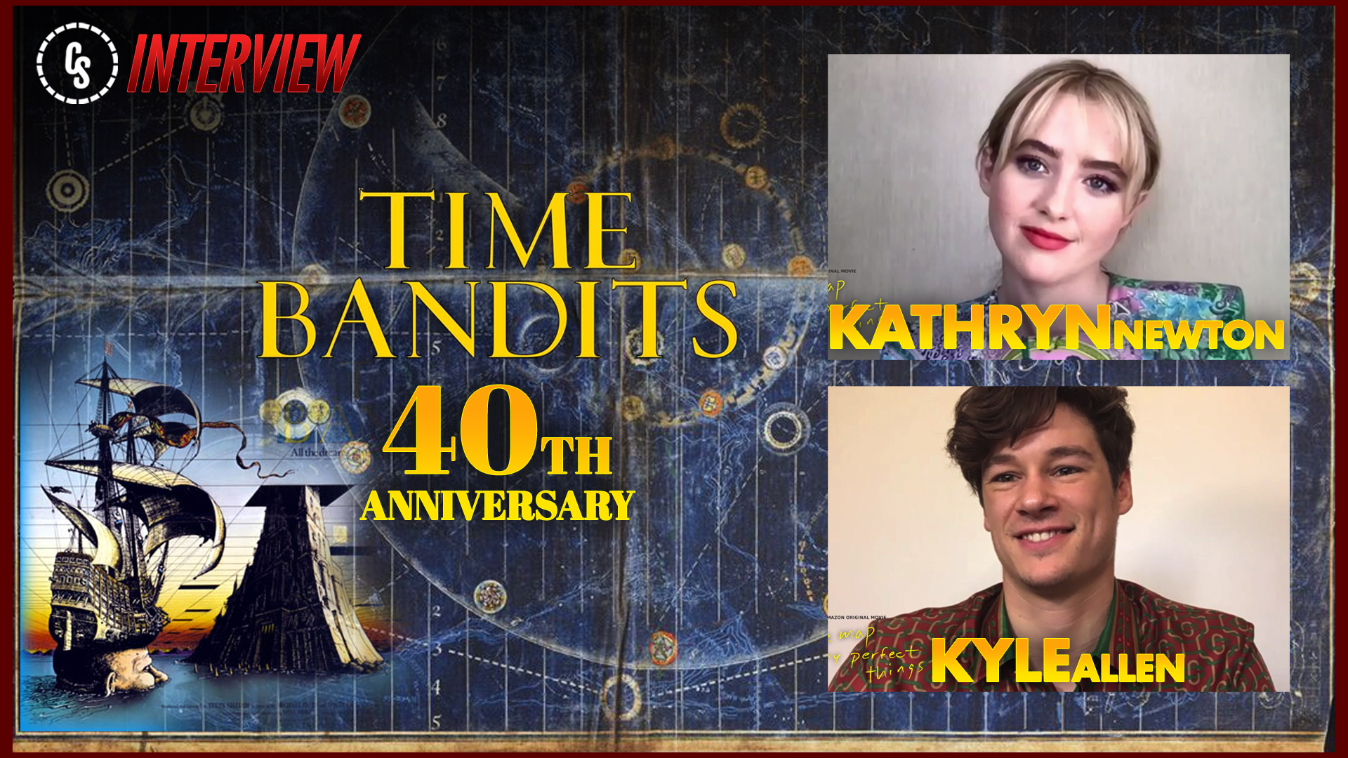Exclusive: Kathryn Newton & Kyle Allen on Time Bandits 40th Anniversary