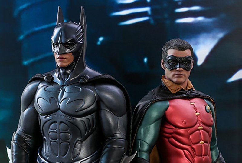 Hot Toys Unveils Batman Forever-Inspired Batman and Robin Figures!