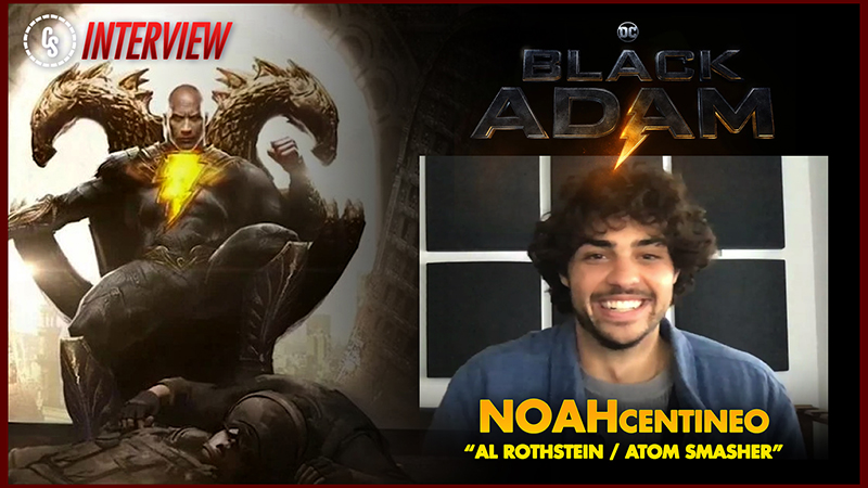 Exclusive: Noah Centineo Talks Working with Dwayne Johnson in Black Adam