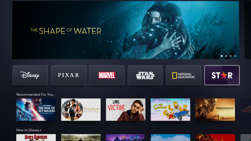 Disney+ Officially Launches Star in Select International Territories