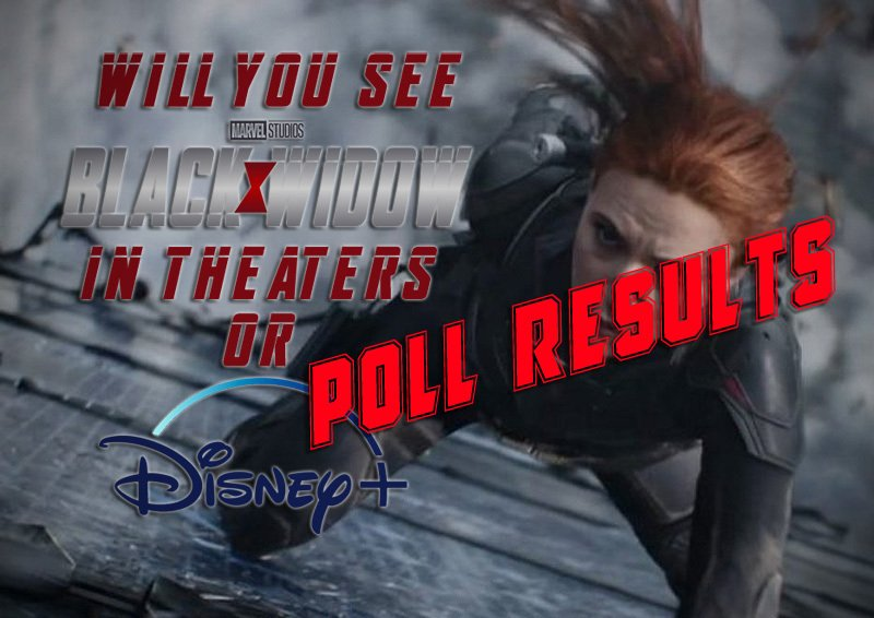 POLL RESULTS: Will You See Black Widow on Disney+ Premier Access or in Theaters?