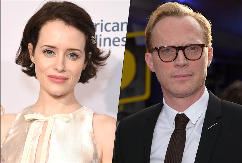 Claire Foy & Paul Bettany To Lead Amazon & BBC's A Very British Scandal
