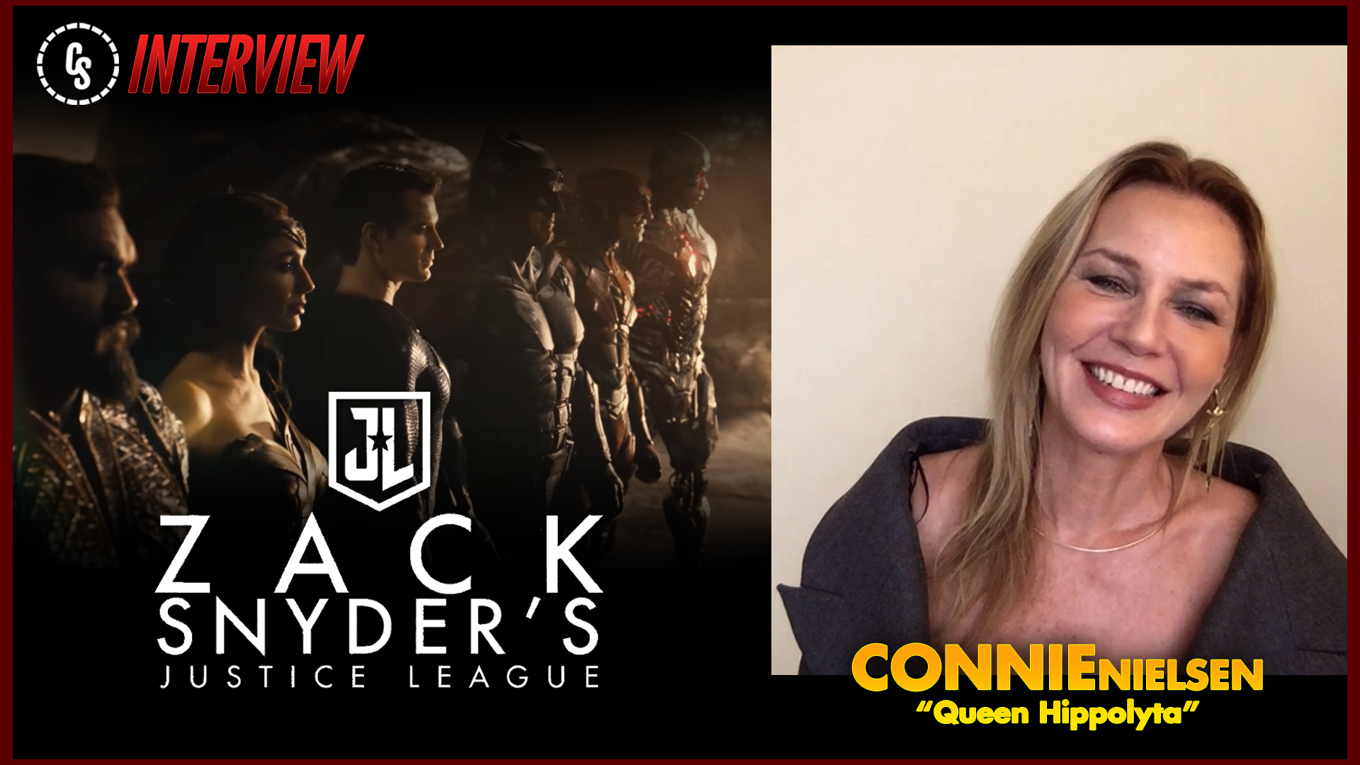 Connie Nielsen Talks Zack Snyder's Justice League & WW84!