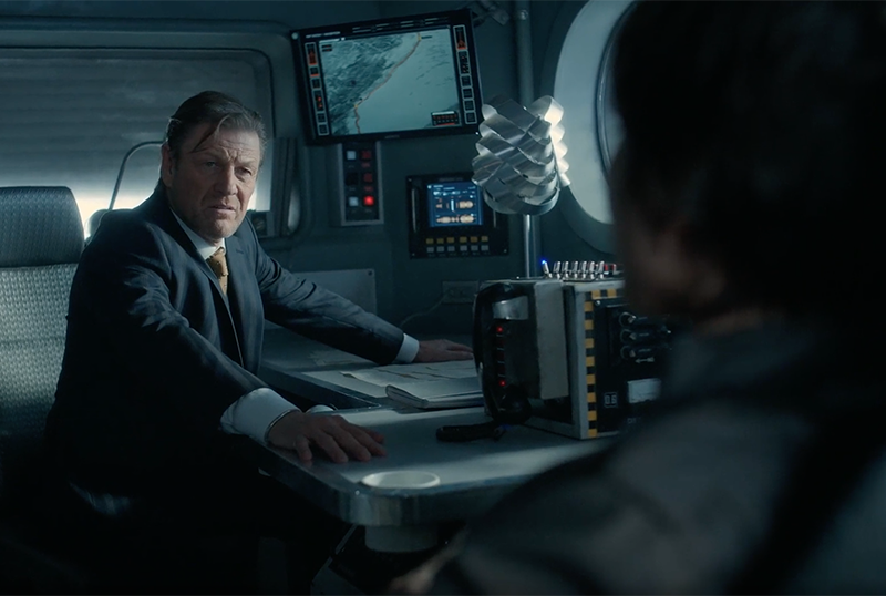 Exclusive Snowpiercer 2.08 Clip: Wilford & Alex are at Odds With Each Other