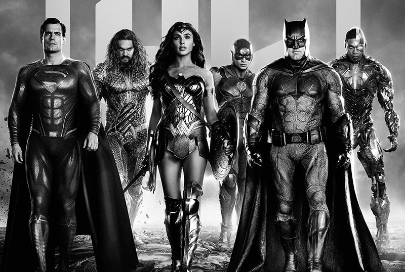 New Zack Snyder's Justice League Key Art Plus Fan Sweepstakes Announced