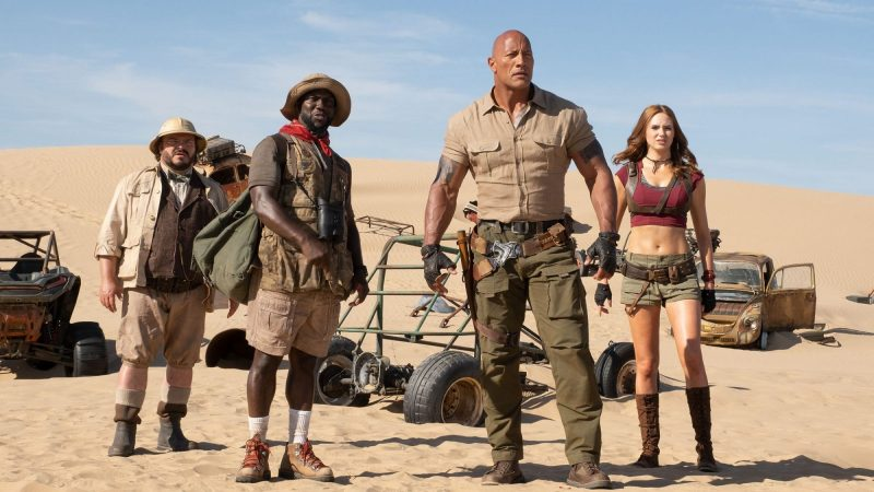 Dwayne Johnson's Jumanji 4 is in the Early Stages of Development