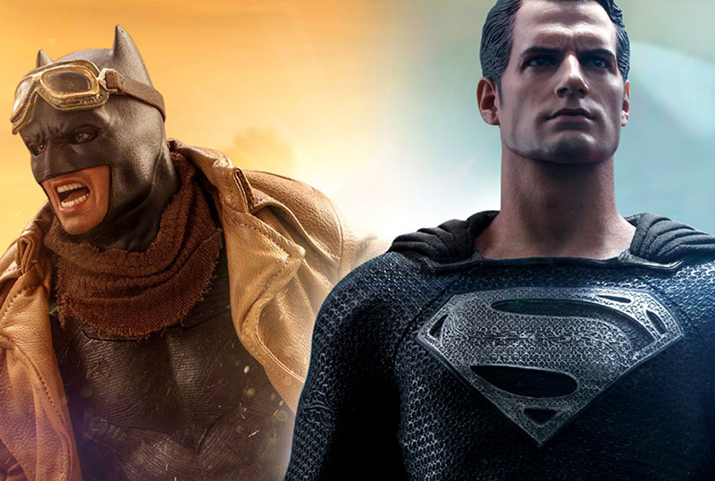 Hot Toys Unveils Zack Snyder's Justice League-Inspired Figures