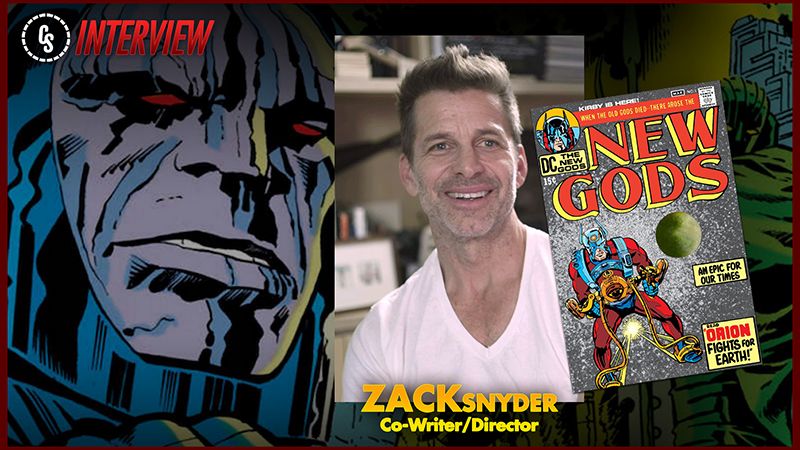 CS Video: Zack Snyder on Introducing The New Gods in Justice League!