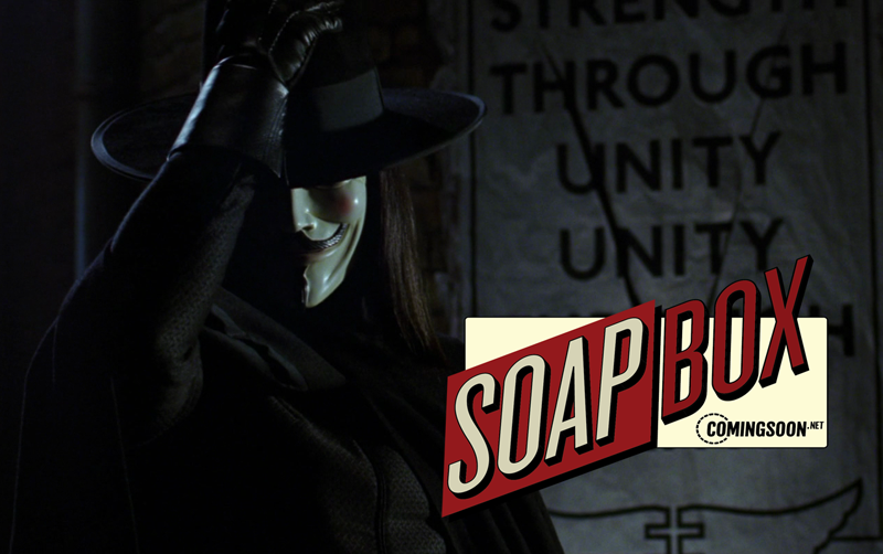 CS Soapbox: VForVendetta's 15th Anniversary Comes at an Eerie Time