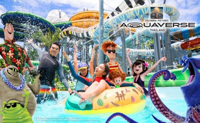 Ghostbusters & Jumanji Rides Set For Columbia Pictures Aquaverse Park