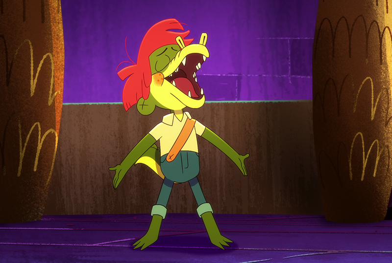 Exclusive Arlo the Alligator Boy Clip From Netflix Animated Musical