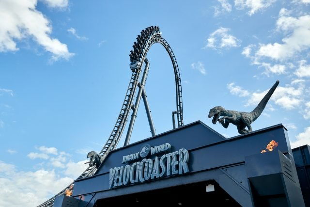 Universal's Jurassic World VelociCoaster Opening Date Announced