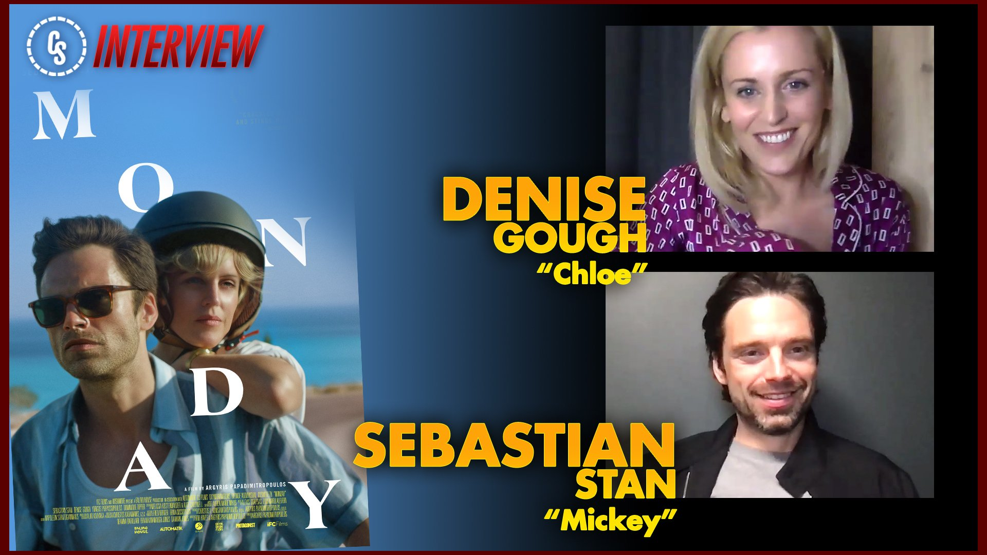 CS Interview: Monday Interview With Stars Sebastian Stan & Denise Gough