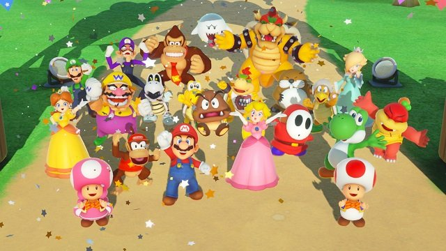 Super Mario Party Nintendo Switch Group Shot