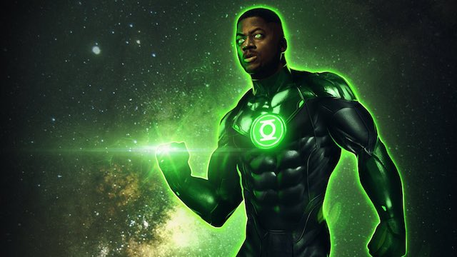 Wayne Carr Green Lantern Actor