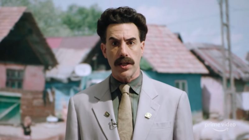 Borat Supplemental Reportings Trailer Teases Never-Before-Seen Footage