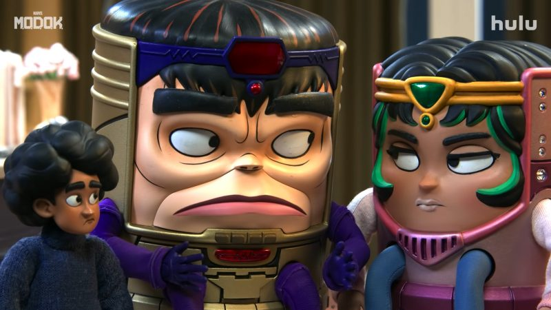 Marvel's M.O.D.O.K. Trailer Previews Hulu's Star-Studded Animated Series