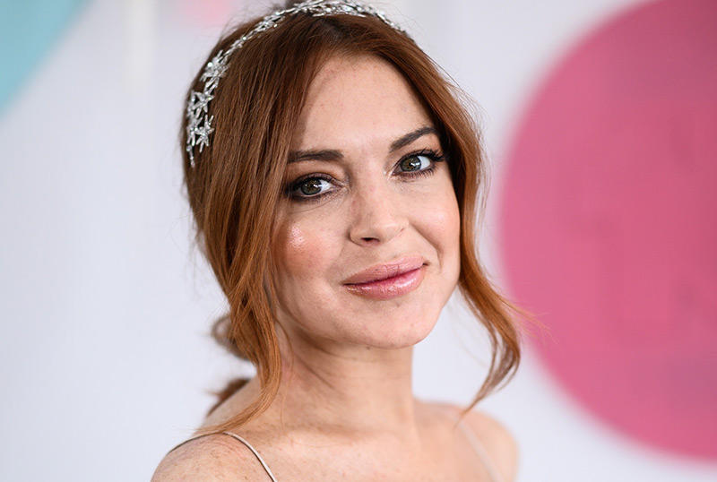 Lindsay Lohan to Star in Christmas Romantic Comedy for Netflix