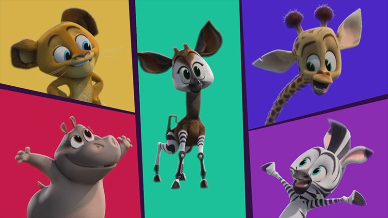 Watch Madagascar: A Little Wild's Original Pride Song 'Be Proud!'