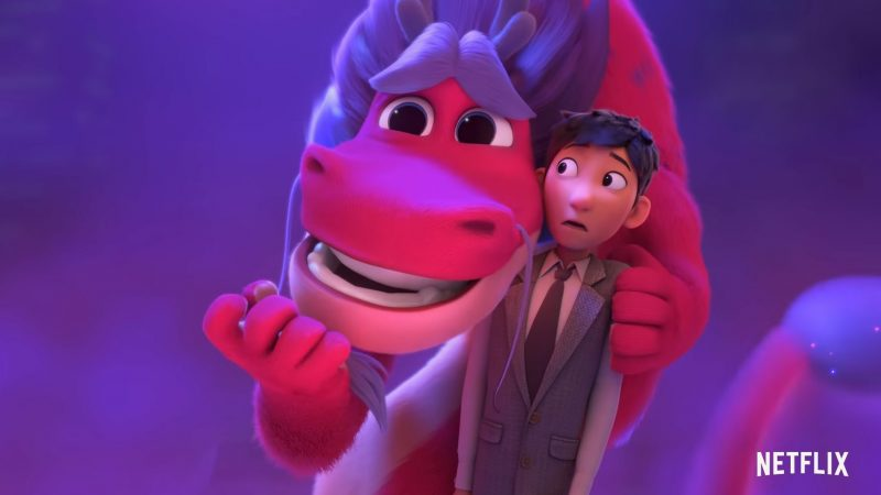 Wish Dragon Trailer Previews Netflix & Sony's Newest Animated Pic